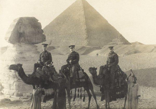 MEDAILLE ANGLAISE EGYPTE 1914/1915