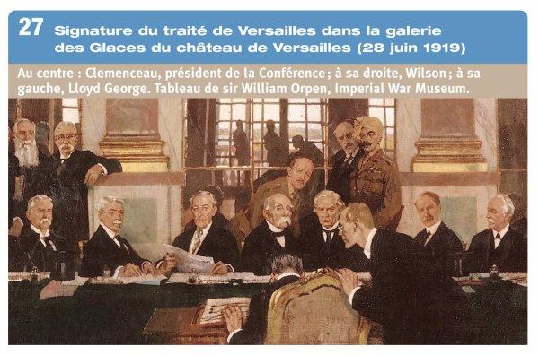 RENTREE TELEGRAMME HISTORIQUE DU 24.06.1919.