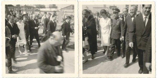 PHOTOS PRISES PAR MON ONCLE 1965 COSMONAUTE TERECHKOVA VALENTINA.