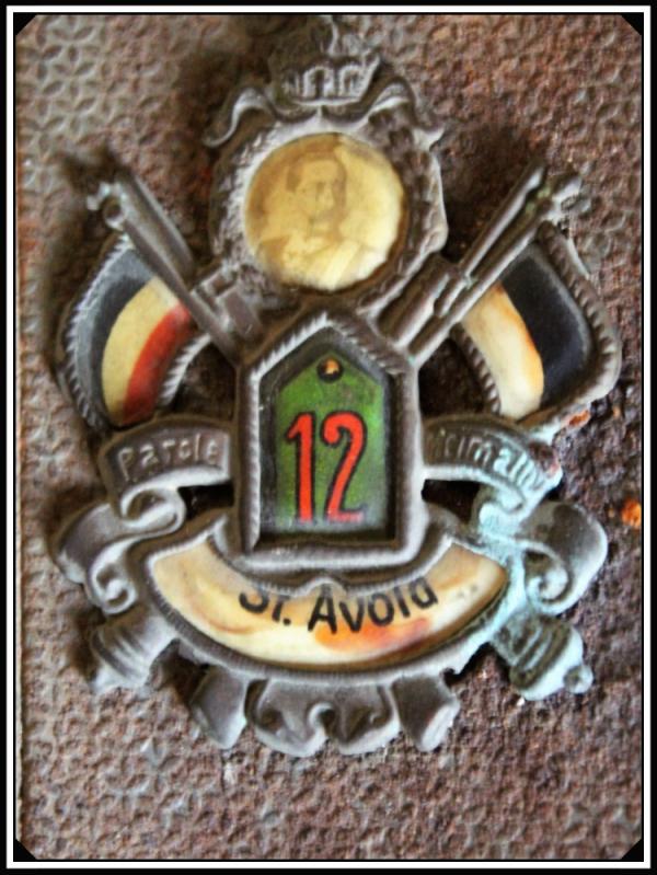 PORTE BOITE ALLUMETTES RESERVISTE J.Z.P.12 ST-AVOLD.
