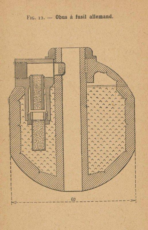 TROMBLON LANCE GRENADE MAUSER G.98.