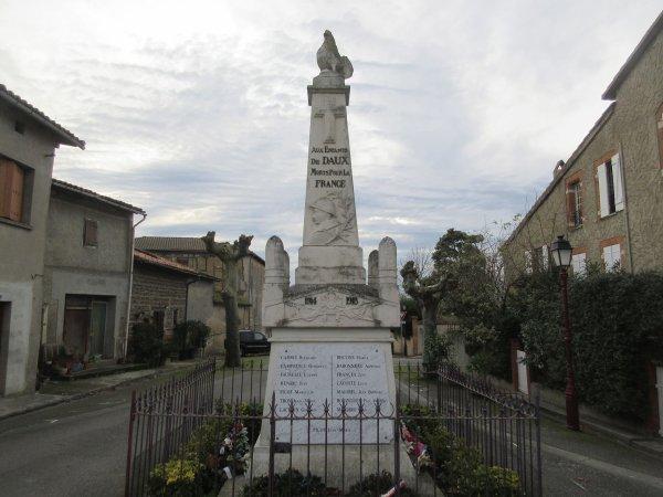 MONUMENT DAUX (HAUTE-GARONNE).
