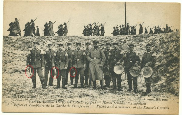 FIFRE ALLEMAND 1914.