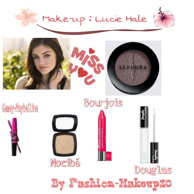 Make-up : Lucy Hale