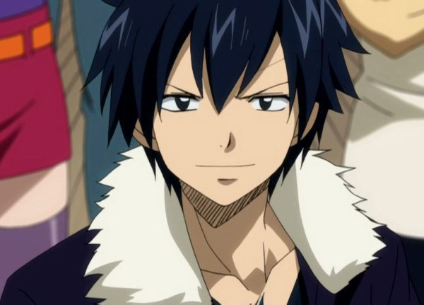 Les personnages: Grey Fullbuster