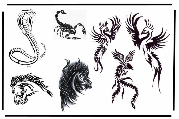 motifs tatouages animaux vous serez connu gr ce mon blog. Black Bedroom Furniture Sets. Home Design Ideas