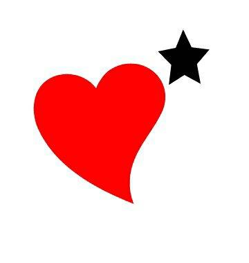 Coeur et étoile
