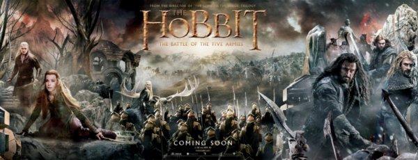Le Hobbit 3 : La Bataille des Cinq Armées.
