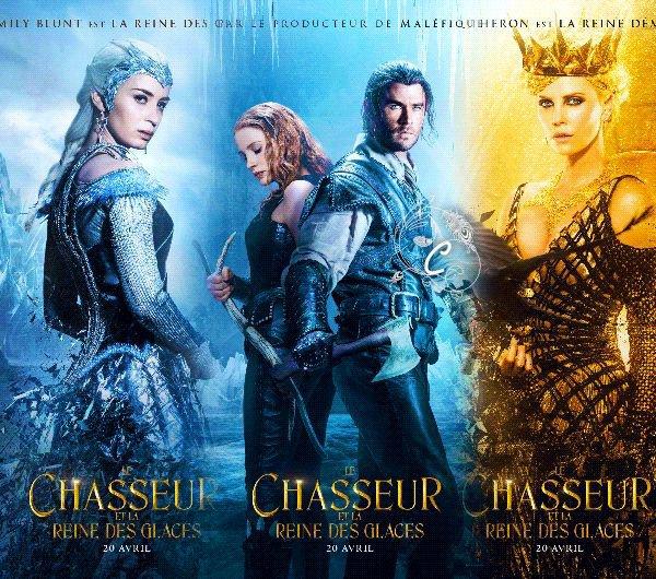 Le Chasseur et la Reine des Glaces.
