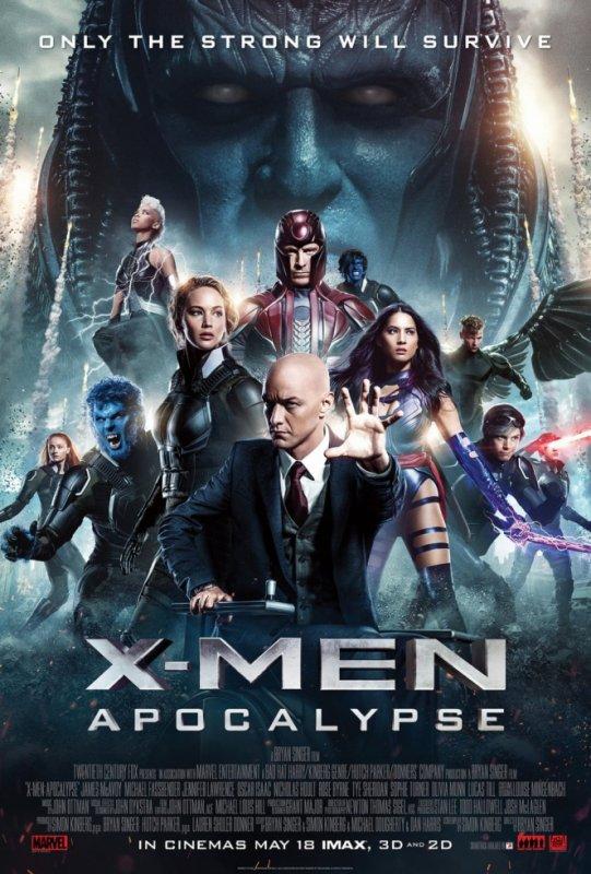 X-Men 8 : Apocalypse.