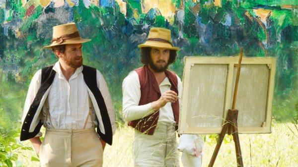 Cézanne et moi.
