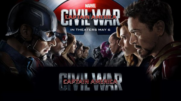 Marvel 13 : Captain America - Civil War.