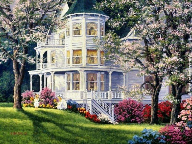 jolies maisons...et jardins..