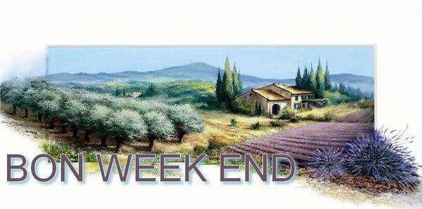 passez un très bon weekend !!
