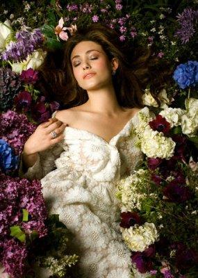 Sleeping in Flowers
