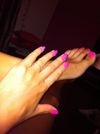 mes pieds tout bronzer