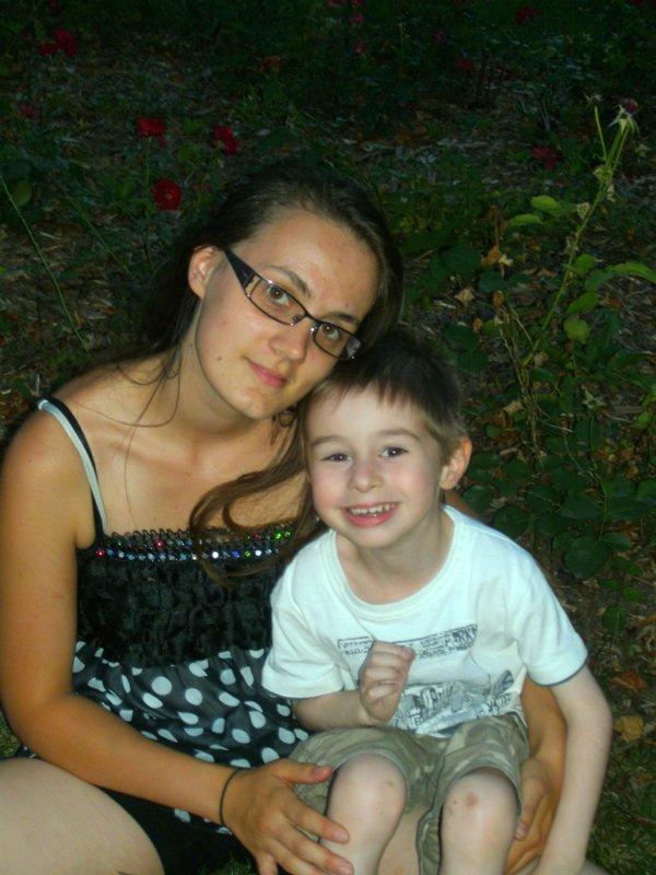 Mon petit c½ur et moi!!