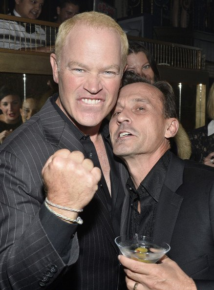 Neal McDonough et Robert Knepper assister Party Hot List de la TV Guide Magazine