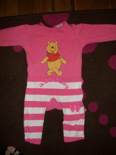 pyjama winnie lourson sans pied 9mois