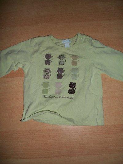 t shirt 12mois