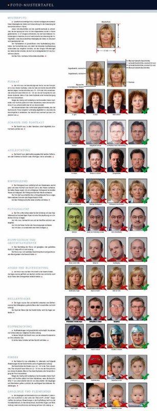 Photo identité réglement