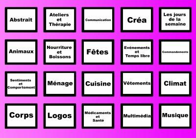 le jeu des pictogrammes