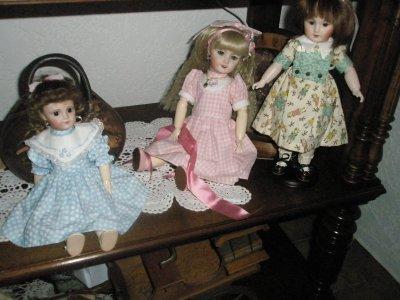 Mes poupées...