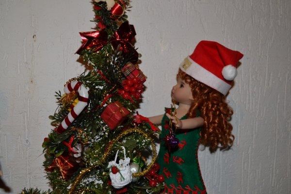 Noël chez les poupées