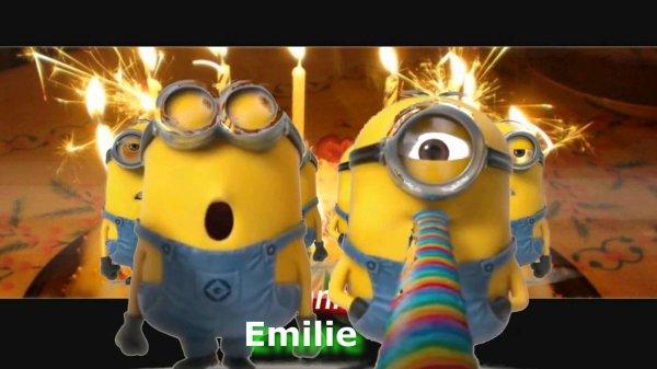 Vivre pour exister...Joyeux anniversaire Emilie <3