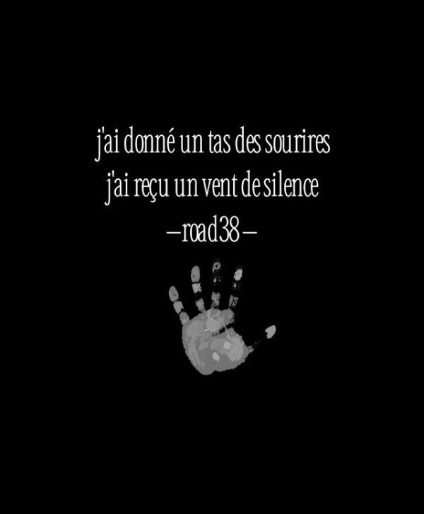 Sourire en silence....•*