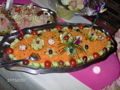 Sehr Exemple des Carottes Râpées - Buffet Froid EJ36