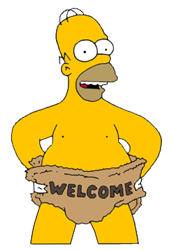 Bienvenue sur TOTONINI69; Homer Simpson