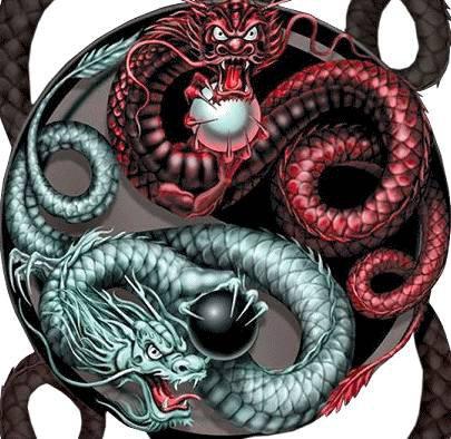 Le ying et le yang,