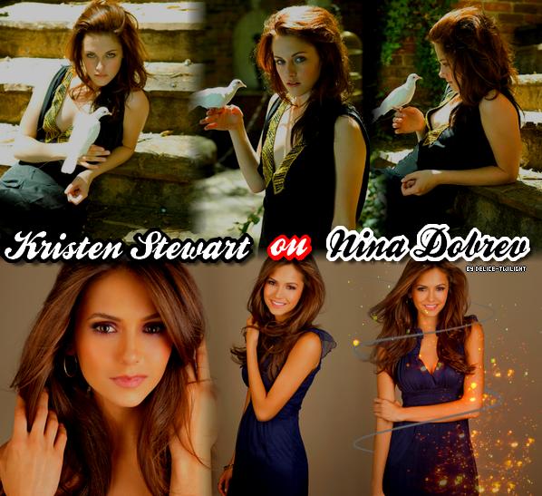 ____+ ____Article numéro Treize.________La sublime Nina ou la talentueuse Kristen ? _________Piix : Nina & Kristen ♥ __________mega offre__