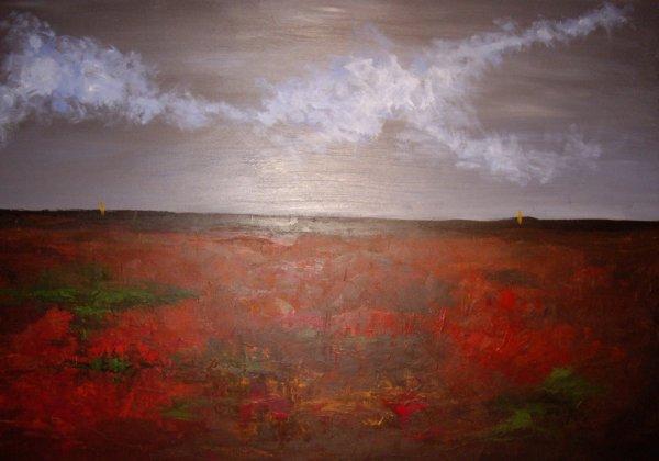 Paysage Abstrait 80x120 cm