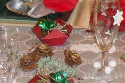 Deco de table noel et jour de l an isaloisirs - Deco de table jour de l an ...