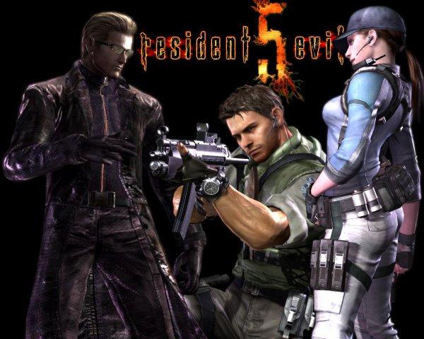 RESIDENT EVIL 5.