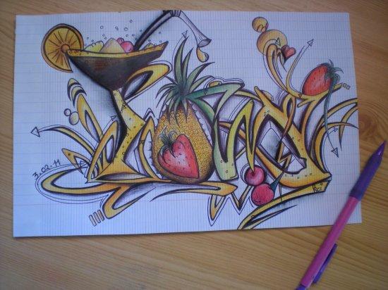 ti graff exotique =)