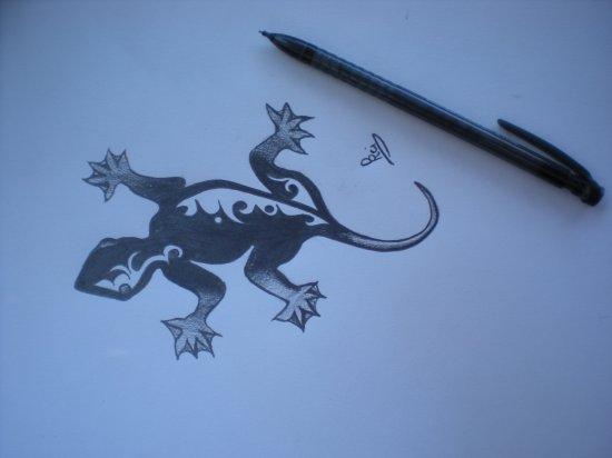dessin de tatouage pour mademoiselle coco