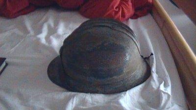mon nouveau casque français très rare  ( adrien modèle 1916 )