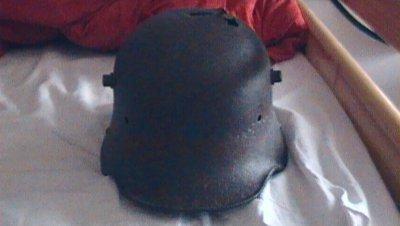 mon nouveau casque allemand (stahlhelm)
