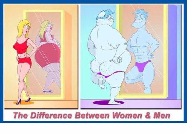 différence d'hommes et de femmes