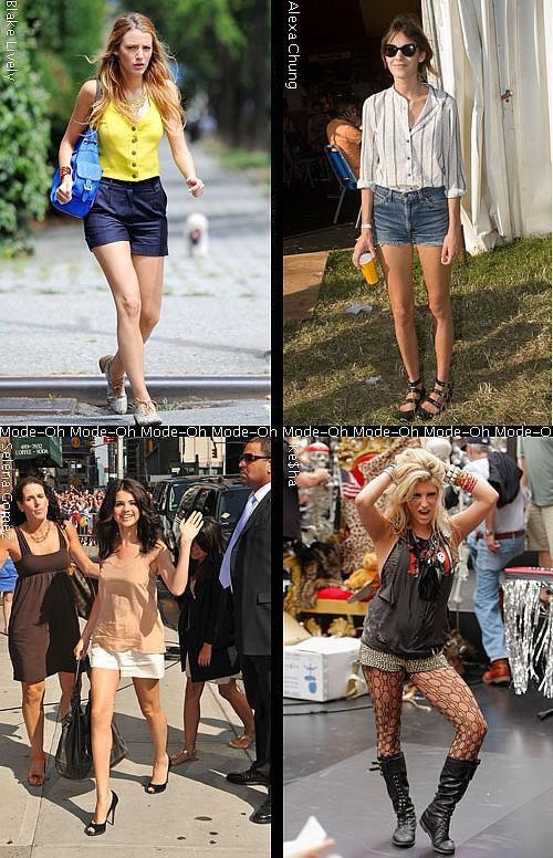 Qui porte le mieux le Mini Short ?