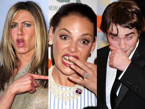 Jennifer Aniston, Katerine Heigl, Robert Patinson   tous plus sexys les uns que les autres! :)