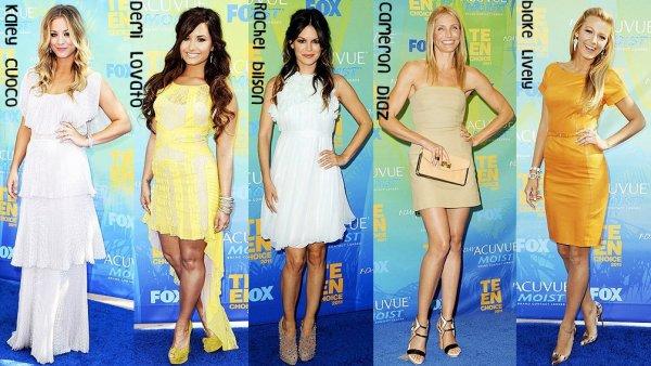 Zoom || Teen Choice Award 2011