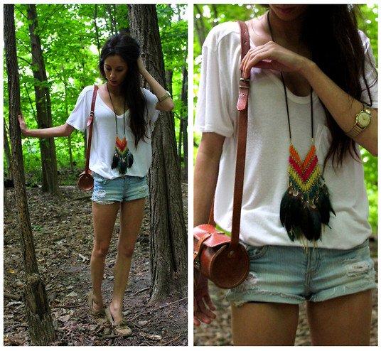 Un look Simple & Casual... Mention spéciale pour les accessoires :)