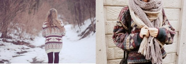 Winter Trend || Le pull à imprimés nordiques