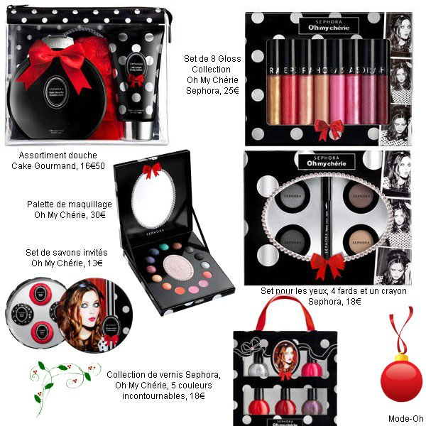 La collection de Noël Sephora : Oh My Chérie
