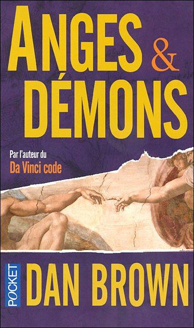 """""""Anges et Démons"""" - Dan Brown"""