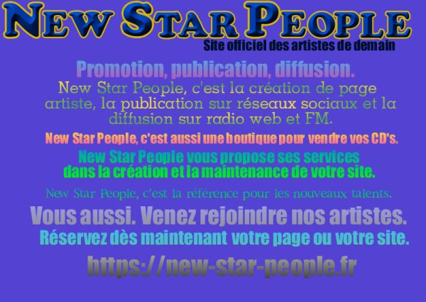Promotion Association New Star People.